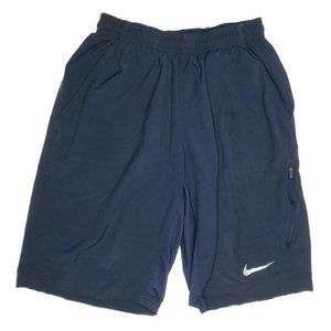Nike Dri Fit Running Shorts Blue Mens Small Lined